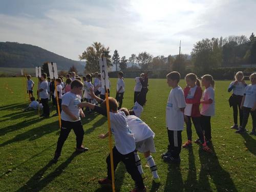 26.10.2018 Projekt BallHelden meets Wettelsheim