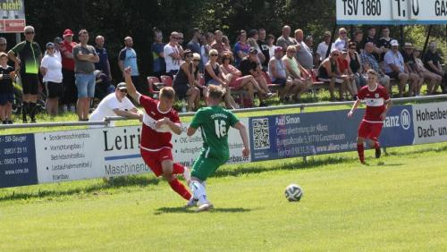 15.08.2021 TSV Weißenburg U32 II - SV Wettelsheim 1:2 (1:0)